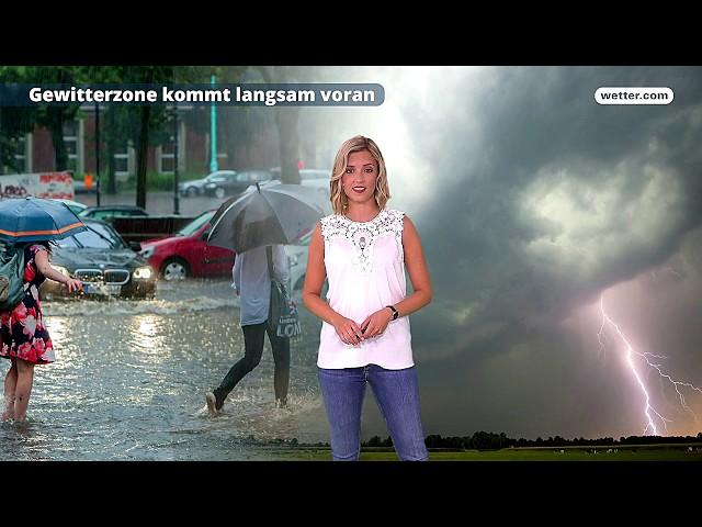 Wetter Die aktuelle Vorhersage 08.06.2018