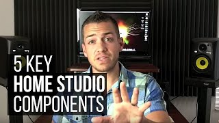The 5 Key Home Studio Components - TheRecordingRevolution.com