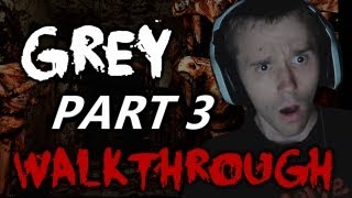 Scary Games - Grey Walkthrough Part 3 w/ Reactions & Facecam