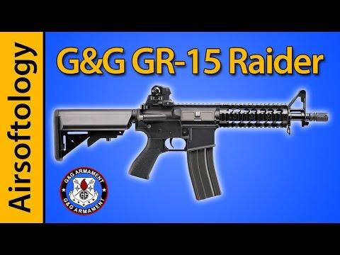 G&G GR-15 Raider M4 AEG Review | Airsoftology