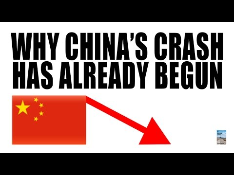 Why China has Already Begun to Crash as Real Economy Declines!