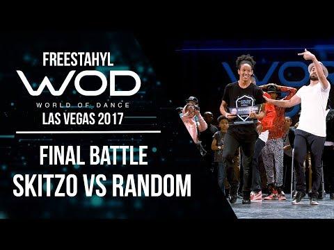 Skitzo vs Random | Freestahyl | FrontRow | World of Dance Las Vegas 2017 | #WODLV17