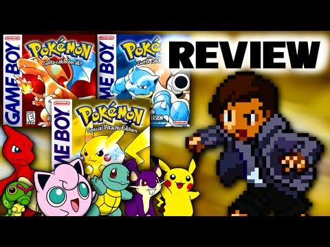 Pokémon Red, Blue, and Yellow Review - NintendoFanFTW