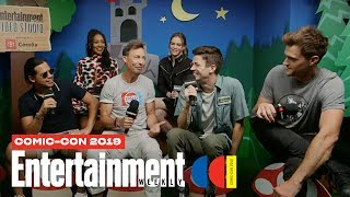 'The Flash' Stars Grant Gustin, Danielle Panabaker & Cast LIVE | SDCC 2019 | Entertainment Weekly