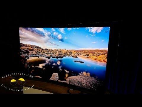 Samsung F9000 UHDTV Eyes-on