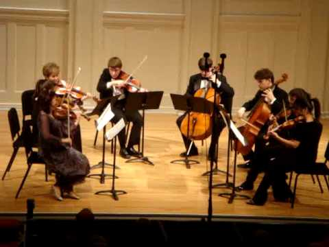 Mendelssohn Octet ...4th movement played by Academy students