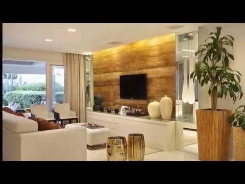 Idéias de como decorar sala de estar