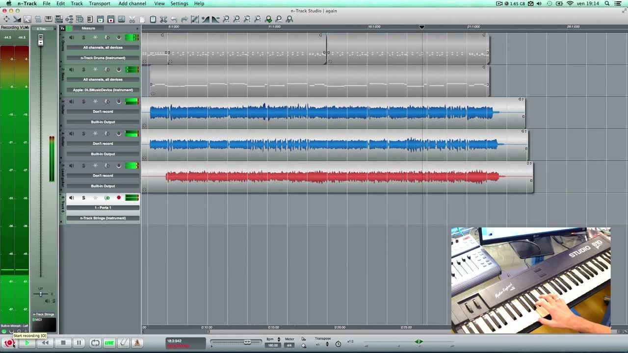 nTrack Studio Multitrack Recorder - Drums, Audio & MIDI - YouTube