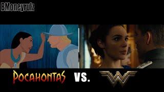 Disney's 'Wonder Woman' Parody: Side-By-Side w/ Original Trailer