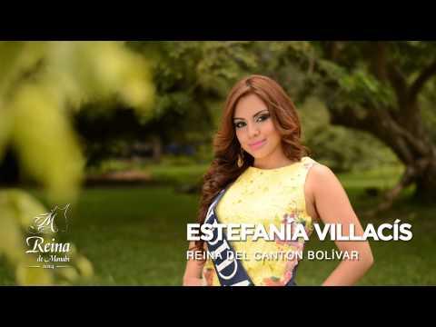 Spot 1 candidatas a Reina de Manabí