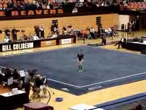 tasha smith twin sister. Tasha Smith on floor exercise