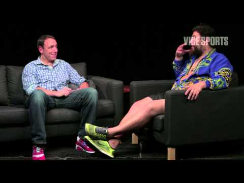 Competitive Eater Joey Chestnut on Challenging Kobayashi: The Fat Jew Show