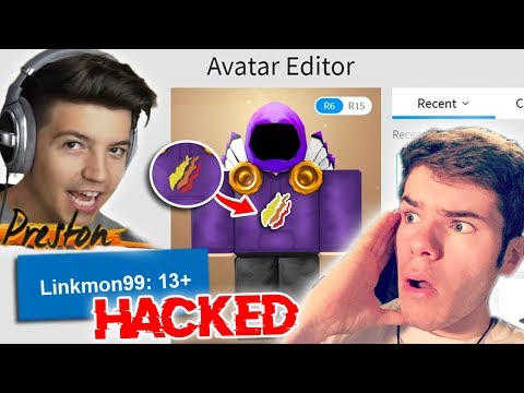 PRESTON HACKED ME... (The TRUTH?!) - Linkmon99 ROBLOX
