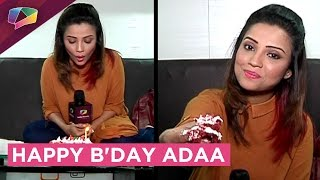Adaa Khan Celebrates Her Birthday With India Forums | Exclusive
