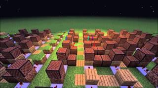 'The Elder Scrolls V: Skyrim Main Theme' - Minecraft Noteblock Song