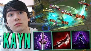 THE REAL WAY TO PLAY KAYN FULL LETHALITY DARKIN FORM ! [ STILL TANKY AF ]