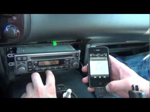 GTA Car Kits - Honda S2000 2000-2009 iPod. iPhone. iPad. mp3 and AUX adapter installation