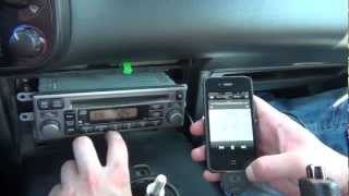 GTA Car Kits - Honda S2000 2000-2009 iPod, iPhone, iPad, mp3 and AUX adapter installation