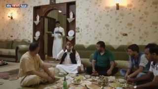 معاناة أسر ليبية في طريقها إلى مصر
