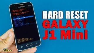 Aplicando o hard reset no Samsung Galaxy J1 Mini SM-J105 formatar