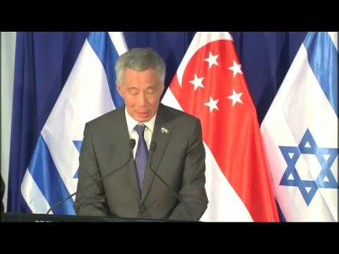 Singapore's PM Lee embarks on historic visit to Israel