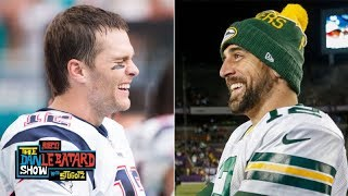 Aaron Rodgers is still laughing at Tom Brady's critics | The Dan Le Batard Show