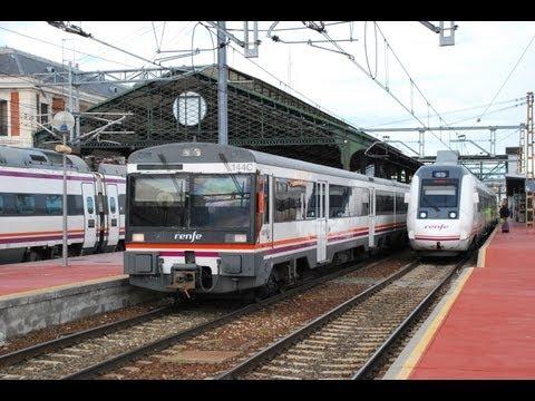 Trenes de todo tipo por Valladolid