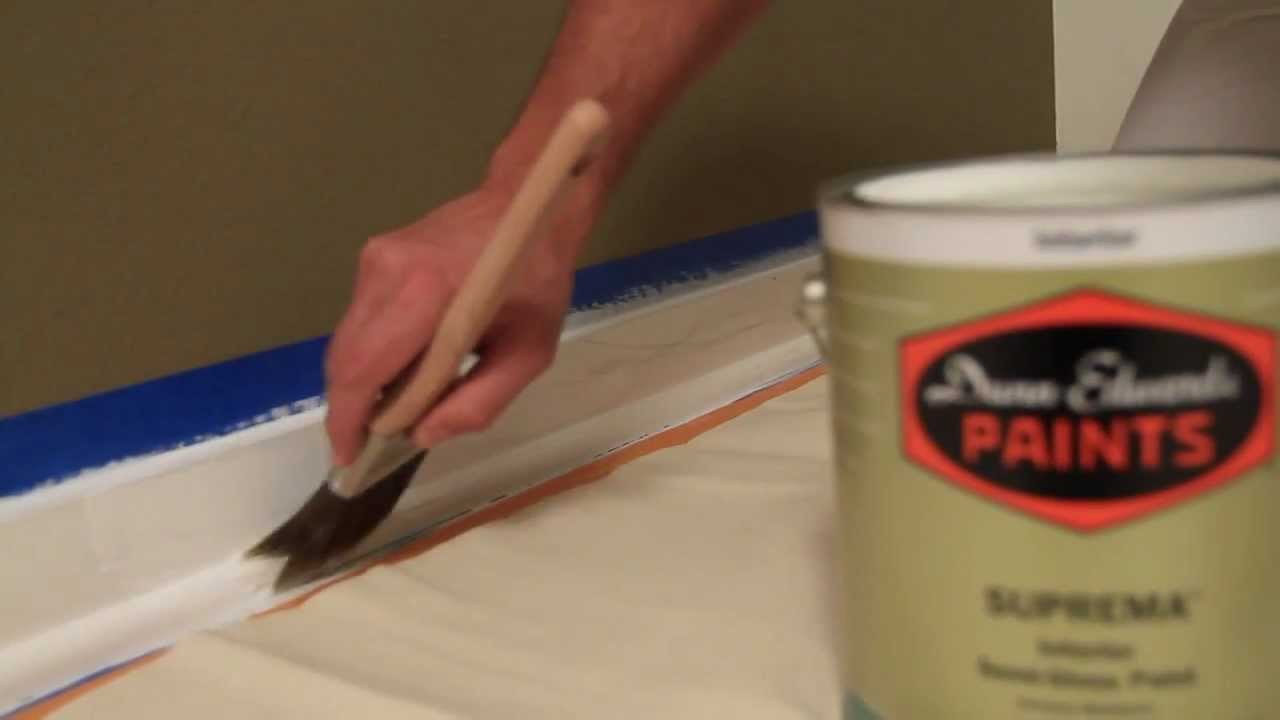 how to paint moldings and trim youtube. Black Bedroom Furniture Sets. Home Design Ideas
