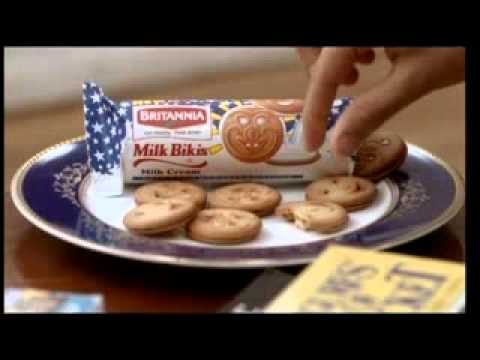 Britannia Milk Biscuits Commercial