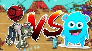 CRAZIEST BOSS EVER?! | Monsters VS Zombies