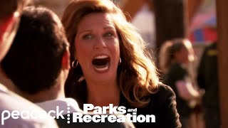 Joan Calamezzo's Reaction to Lil' Sebastian - Parks and Recreation