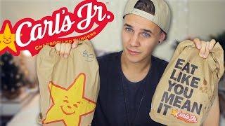 Carl's Jr. Box • 3,000 Calorie Ultimate Cheat Day • MUKBANG