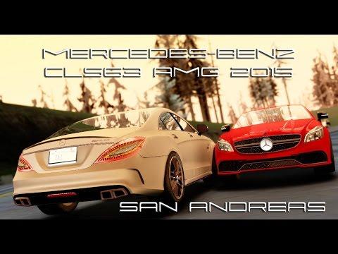Mercedes-Benz CLS63 AMG 2015