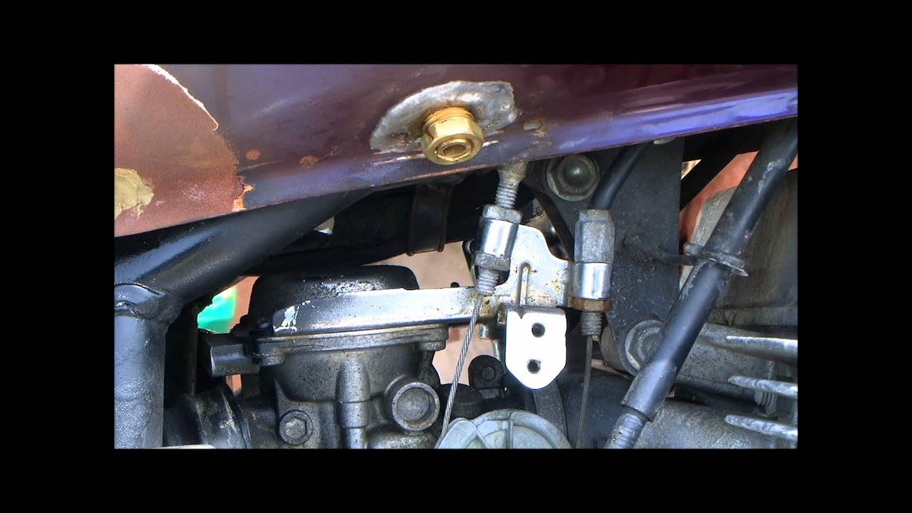 Carb Removal 1985 Honda Cmx250 Rebel