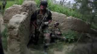 French Army Afghanistan Firefight Compilation