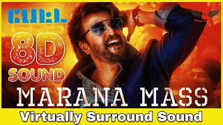 Marana Mass 8d Audio Song Petta Rajinikanth Vijay Sethupathi Anirudh Ravichander 8d Songs