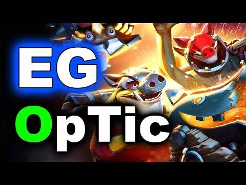 EG vs OpTic - Super Fun Game + Techies 7.07 - MIDAS Mode DOTA 2
