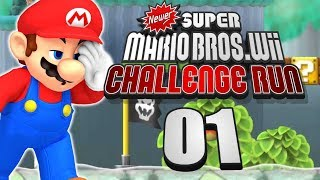 THIS AIN'T YOUR PAPPY'S NEWER! | Newer Super Mario Bros. Wii - CHALLENGE RUN | Episode #01