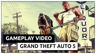 Grand Theft Auto V GTA 5 (2015) Gameplay GeForce GT730 - Intel Core 2 Quad Q9300 - 4GB RAM