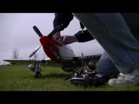 Motion RC Freewing P51 D Mustang w/Sound System. Iron Ass