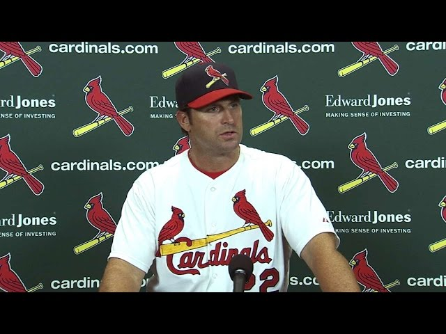 SD@STL: Matheny discusses Cards' performance in win