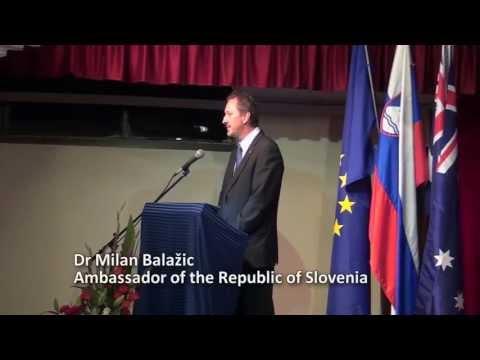 pictures Ambassador Dr Balažic - Australian Ralph Churches Slovenian ...