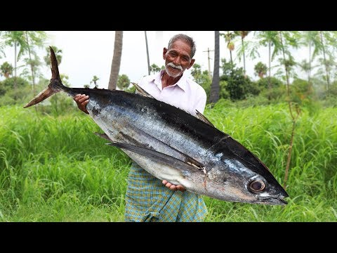 Apollo Fish Recipe | Giant Fish Fry | Big Fish Recipe by Grandpa