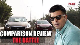 Maruti Suzuki Dzire vs Honda Amaze vs Ford Aspire – The Battle | Comparison review by Kranti Sambhav