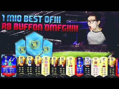 FIFA 16: PACK OPENING (DEUTSCH) - FIFA 16 ULTIMATE TEAM - OMFG 1 MIO BEST OF! RECORD BREAKER BUFFON!