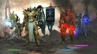 PS3/Xbox 360 Diablo 3 RoS - Best Builds Torment 6 Rifts 1/3