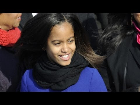 Malia Obama: Four years in photos
