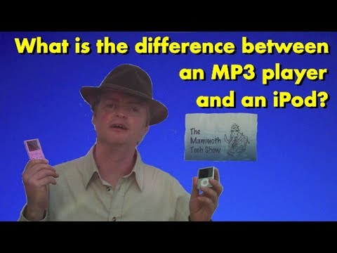 iPods Vs MP3 players (What's the difference?)