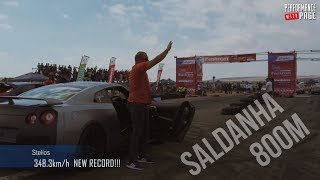 Saldanha Drags 2018 Highlights, burnouts and ENTIRE PARADE lap.