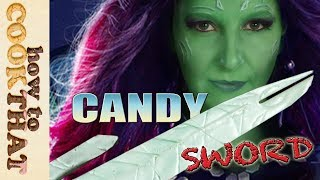 SUGAR SWORD from Guardians of the Galaxy 2, How To Cook That Ann Reardon